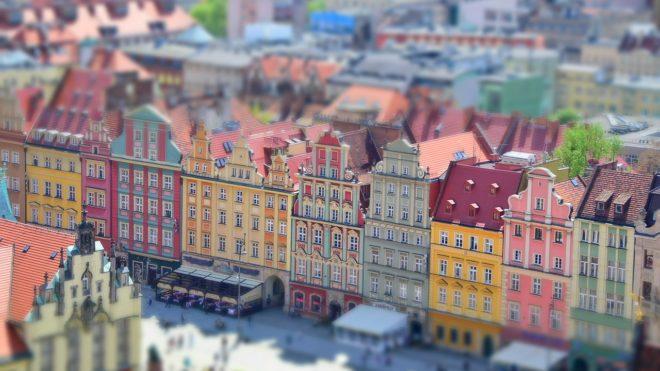 Wrocław z perspektywy drona